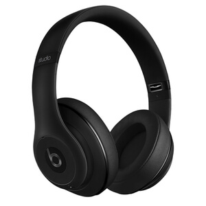 Beats by Dr. Dre: Studio 2.0 Noise Cancelling Headphones with RemoteTalk - Matte Black (Manufacturer Refurbished)