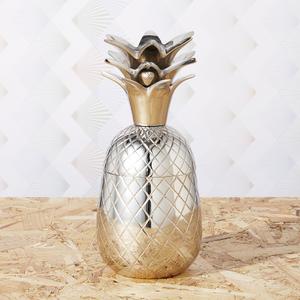 Pineapple Storage Pot/Tumbler - Stainless Steel