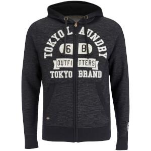 Tokyo Laundry Men's Hotchkiss Zip Through Hoody - Black