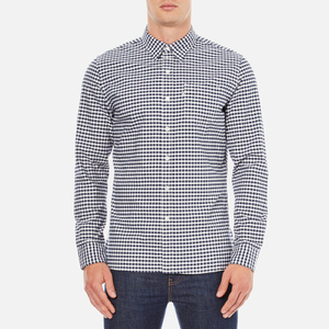Levi's Men's Sunset 1 Pocket Shirt - Mentha Dress Blues Plaid