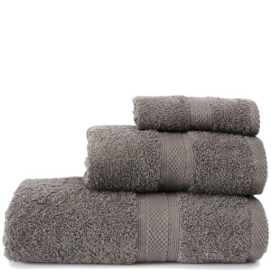 Restmor Knightsbridge 100% Egyptian Cotton 3 Piece Towel Bale Set (500gsm) - Charcoal
