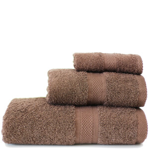 Restmor Knightsbridge 100% Egyptian Cotton 3 Piece Towel Bale Set (500gsm) - Chocolate