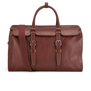 Ted Baker Men's Shalala Leather Holdall Bag - Tan