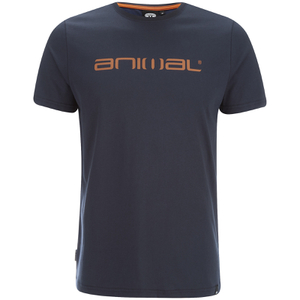 Animal Men's Classico Back Print T-Shirt - Total Eclipse Navy