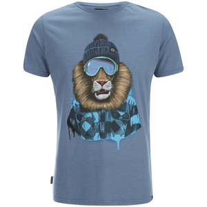 Animal Men's Skoar T-Shirt - Cadet Navy Marl