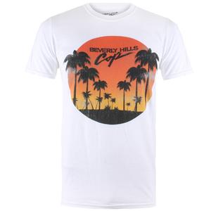 Beverly Hills Cop Men's Sunset T-Shirt - White