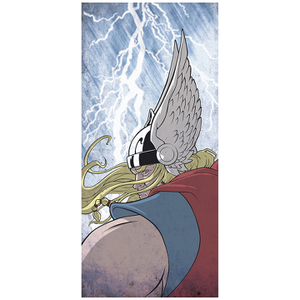 Thunder God Thor Inspired Fine Art Print - 16.5