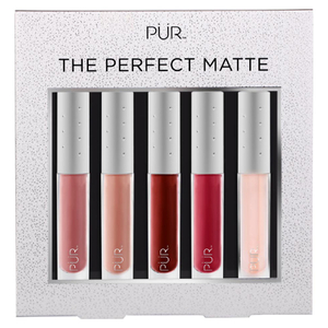 PUR 10 Year Anniversary Bling Limited Edition Perfect Matte Lip Collection