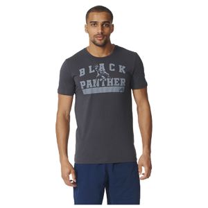 adidas Men's Black Panther Training T-Shirt - Black