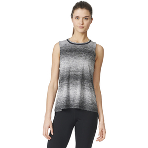 adidas Women's Wow Training Boxy Tank Top - Black