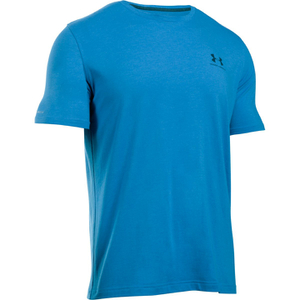 Under Armour Men's Sportstyle Left Chest Logo T-Shirt - Brilliant Blue/Nova Teal