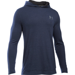 Under Armour Men's Triblend Pullover Hoody - Amidnight Navy