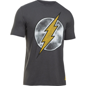 Under Armour Men's Retro Flash Short Sleeve T-Shirt - Carbon Heather