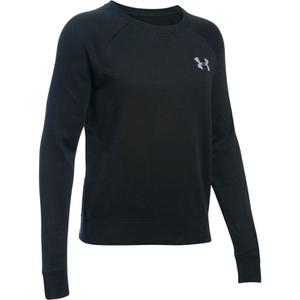 Under Armour Women's Favourite Fleece Crew Sweatshirt - Black