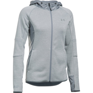 Under Armour Women's Swacket Full Zip Hoody - Steel