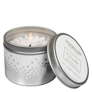Stoneglow Winter Snow-Topped Candle Tin