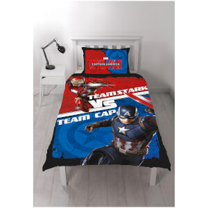 Captain America: Civil War Panel Duvet Set
