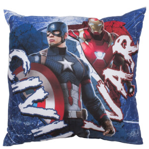 Captain America: Civil War Reversible Square Cushion - 40 x 40cm