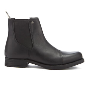 Jack & Jones Men's Simon Leather Chelsea Boots - Anthracite