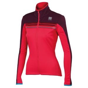 Sportful Women's Allure Softshell Jacket - Cherry