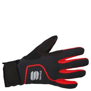 Sportful Sotto Zero Gloves - Black/Red