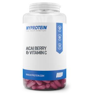 Acaibär- och c-vitaminkapslar