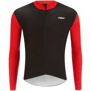 PBK Stelvio Water Repellent Long Sleeve Jersey - Red