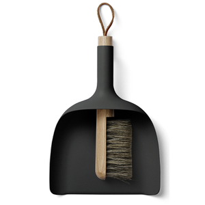 Menu Sweeper and Funnel - Black