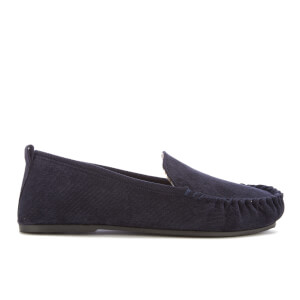 Dunlop Men's Adrien Moccasin Slippers - Navy