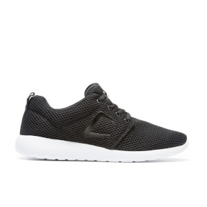 Crosshatch Men's Greystoke Mesh Trainers - Black