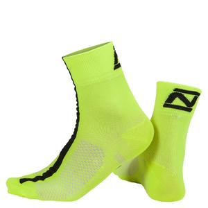 Nalini Corsa Socks 13cm - Fluro Yellow