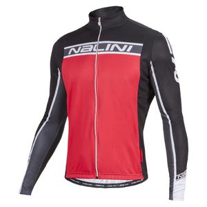 Nalini Confine Ti Long Sleeve Jersey - Red/Black