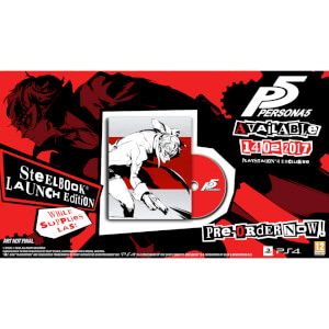 Persona 5 Steelbook Launch Edition