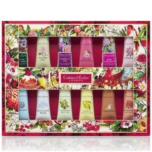 CRABTREE & EVELYN DELUXE HAND THERAPY SAMPLER 12X25G
