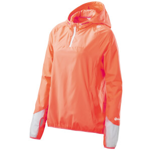 Skins Plus Women's Odyssey Packable Jacket - Atomic Tangerine