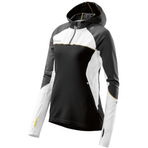 Skins Plus Women's Orion Long Sleeve Hoody - Black/Cloud