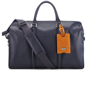 Ted Baker Men's Leather Holdall - Navy