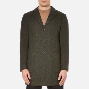 Selected Homme Men's One Trade Coat - Dark Green