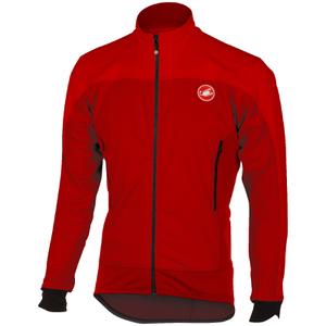 Castelli Mortirolo 4 Jacket - Red