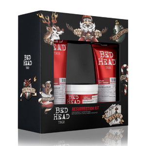 TIGI Bed Head Resurrection Shampoo, Conditioner & Mask Gift Set