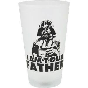 Star Wars 'I Am Your Father' Darth Vader Large Glass in Gift Box