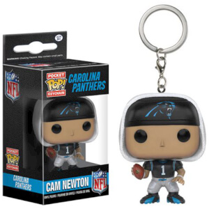 NFL Cam Newton Pocket Pop! Vinyl Key Chain