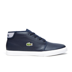 Lacoste Men's Ampthill 116 2 SPM Mid-Top Trainers - Navy