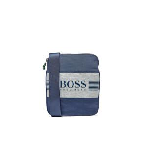 BOSS Green Men's Pixel J Cross Body Bag - Navy