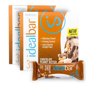 IdealBar 2 Boxes Chocolate Peanut Butter