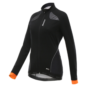Santini Women's Coral Windstopper Jacket - Orange