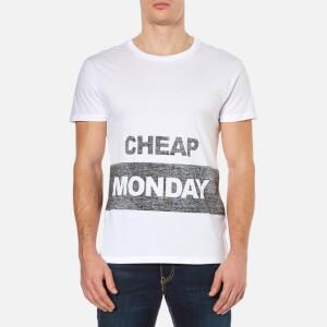 Cheap Monday Men's Standard Reverse T-Shirt - White
