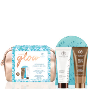 Vita Liberata Fabulous Glow Luxury Tan Washbag Kit - Dark Lotion