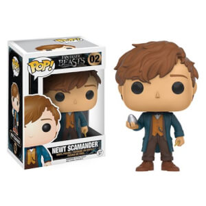 Fantastic Beasts and Where to Find Them Newt Scamander with Egg Pop! Vinyl Figure