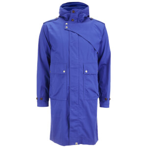 Pretty Green Men's Cartwright Parka - Mid Blue